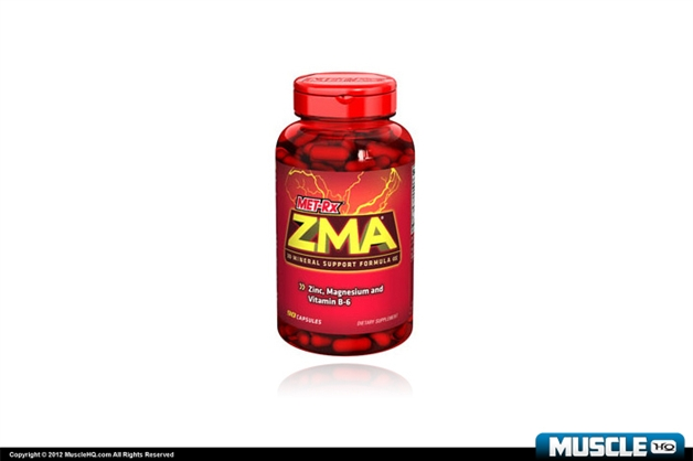 Met-Rx ZMA Zinc, Magnesium and Vitamin B-6 Mineral Support Formula 90 Capsules